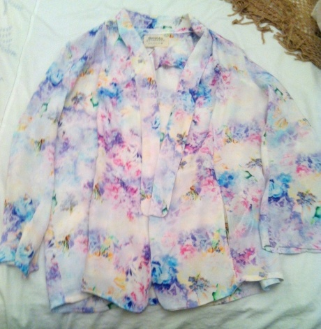 Floral Bershka jacket